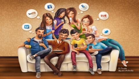 Le interazioni gruppali delle comunità virtuali